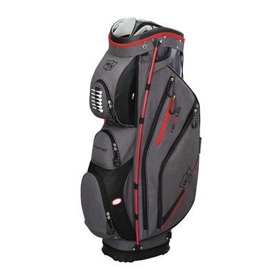 Wilson Staff neXus II Cart Bag-Grey-Red