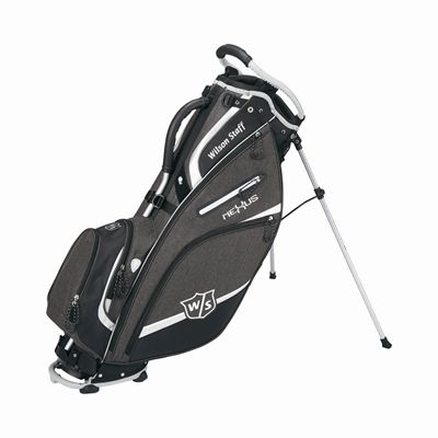 Wilson Staff Nexus III Golf Carry Bag - BlackSilver