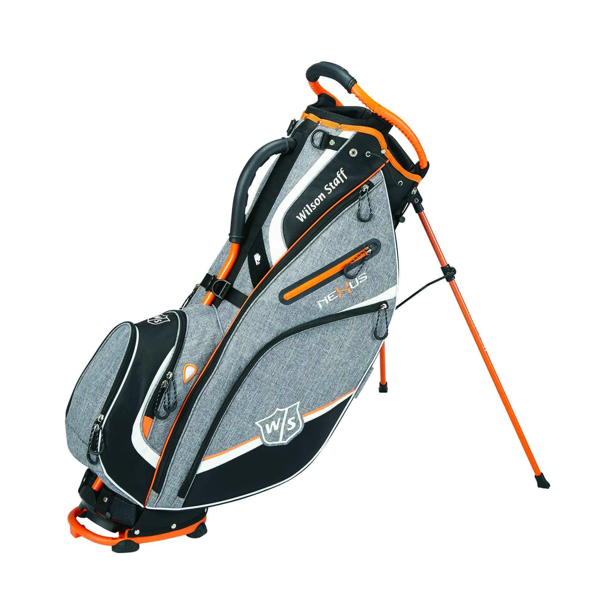 Wilson Staff Nexus III Golf Carry Bag  GreyOrange