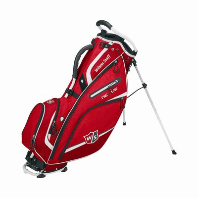 Wilson Staff Nexus III Golf Carry Bag Red/Black