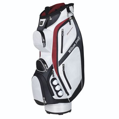 Wilson Staff Performance Golf Cart Bag - White