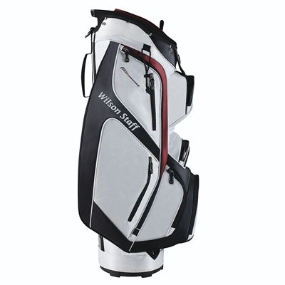 Wilson Staff Performance Golf Cart Bag - White/Side