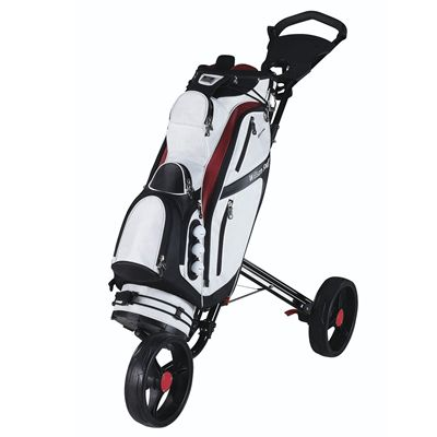 Wilson Staff Performance Golf Cart Bag - White/Cart