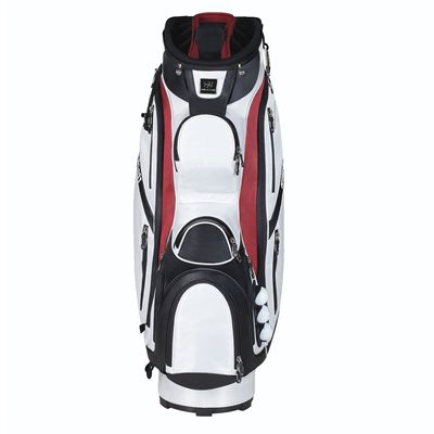 Wilson Staff Performance Golf Cart Bag - White/Front