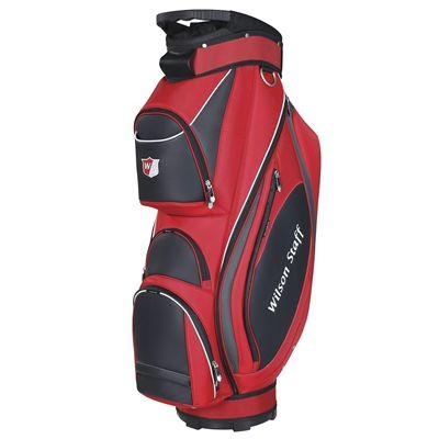 Wilson Staff Prestige Golf Cart Bag - Red