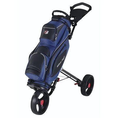 Wilson Staff Prestige Golf Cart Bag - Blue/Cart