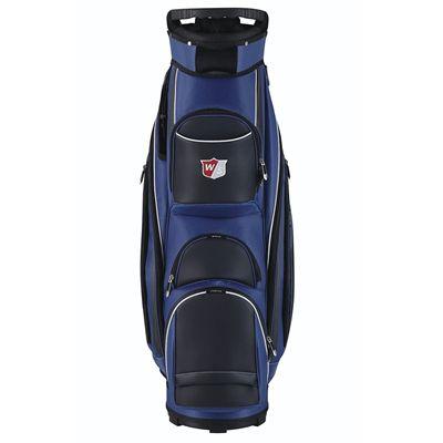Wilson Staff Prestige Golf Cart Bag - Blue/Front