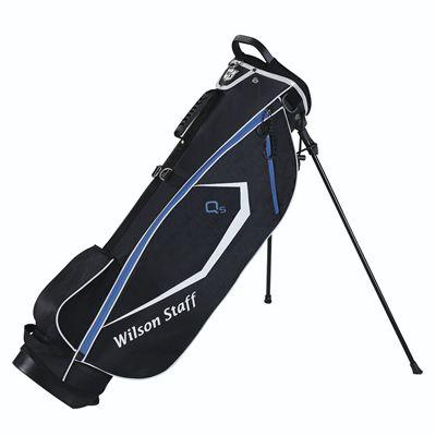Wilson Staff QS Golf Carry Bag - Black