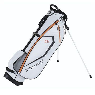 Wilson Staff QS Golf Carry Bag - White