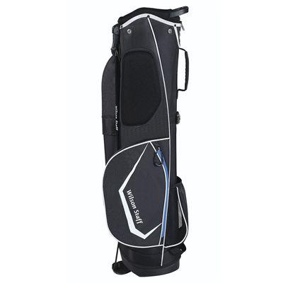Wilson Staff QS Golf Carry Bag - Black/Left