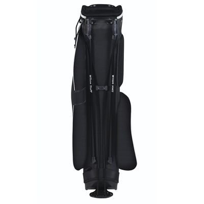Wilson Staff QS Golf Carry Bag - Black/Back