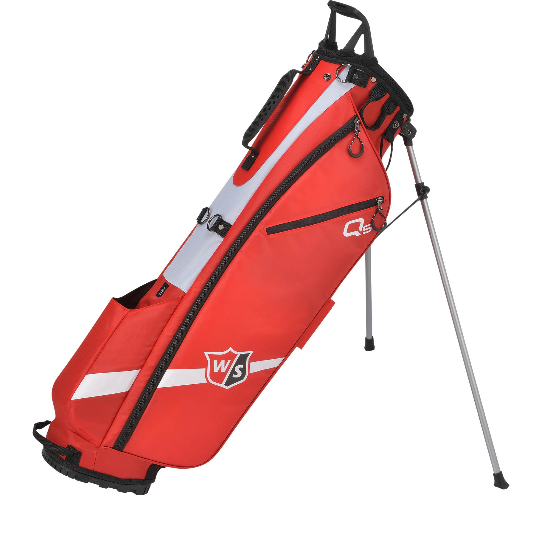 Wilson Staff Quiver Golf Stand Bag - Red