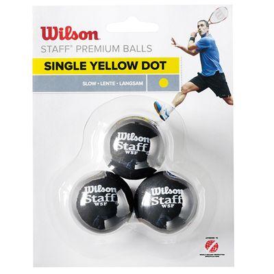Wilson Staff Squash Balls - Pack of 3