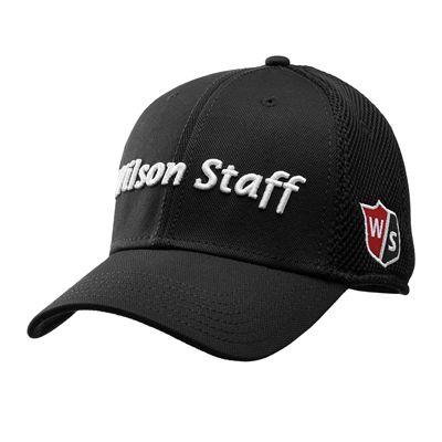 Wilson Staff Tour Mesh Cap 2017 - Black