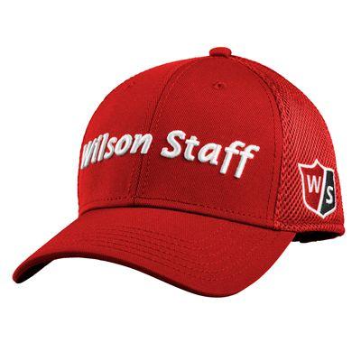 Wilson Staff Tour Mesh Cap 2017 - Red