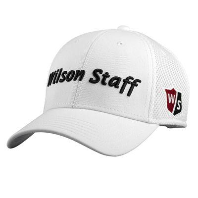 Wilson Staff Tour Mesh Cap 2017 - White