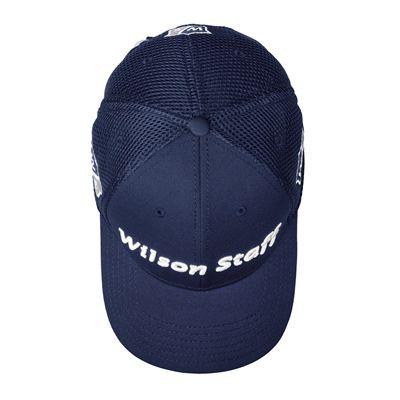 Wilson Staff Tour Mesh Cap-Dark Blue