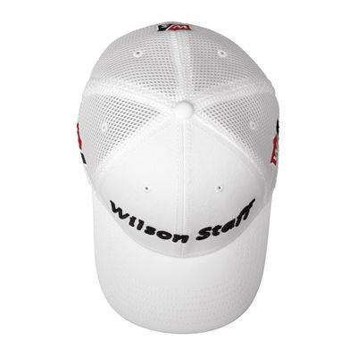 Wilson Staff Tour Mesh Cap-White