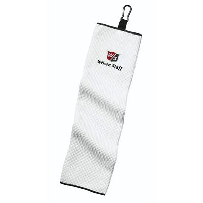 Wilson Staff Trifold Towel-White