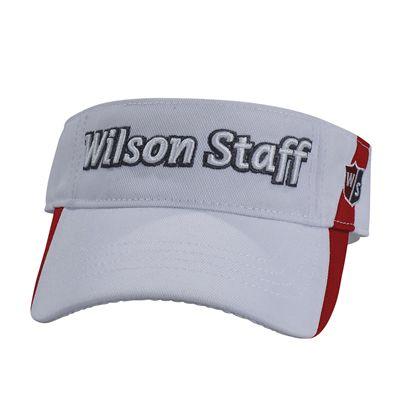 Wilson Staff Visor White