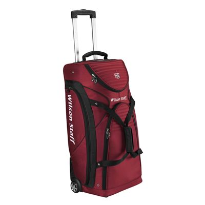 Wilson Staff Wheel Bag - Red