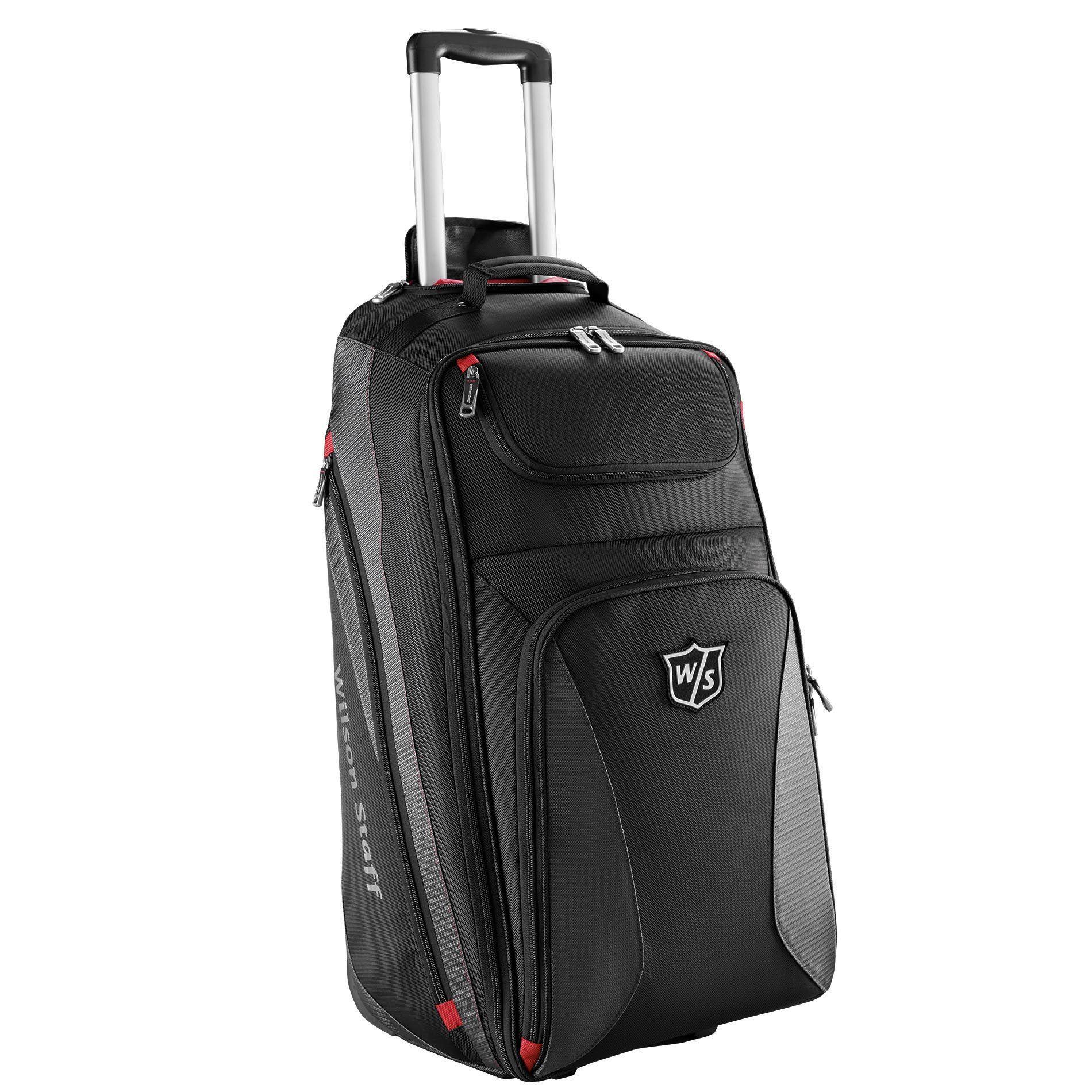 wilson staff wheeled travel bag. Black Bedroom Furniture Sets. Home Design Ideas