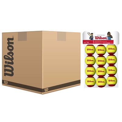 Wilson Starter Easy Red Balls - 5 dozen