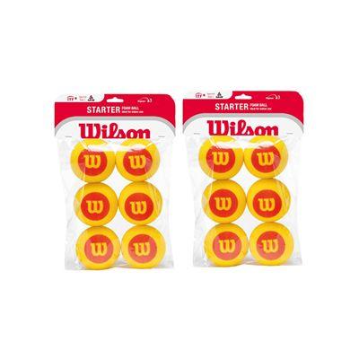 Wilson Starter Foam Balls 1 Dozen