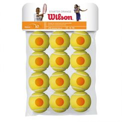 Wilson Starter Game Orange Balls - 12 Pack