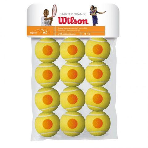 Wilson Starter Game Orange Balls - 12 Pack