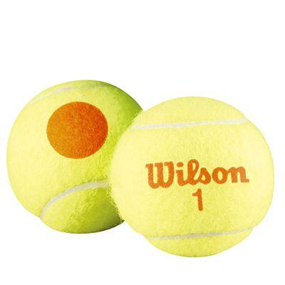 Wilson Starter Orange Mini Tennis Balls - 1 Dozen - Ball