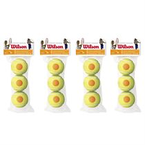 Wilson Starter Orange Mini Tennis Balls - 1 Dozen
