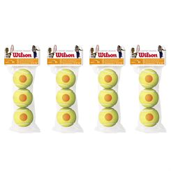 Wilson Starter Orange Mini Tennis Balls - 1 Dozen