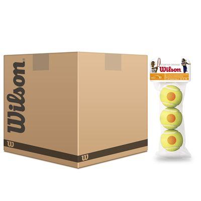 Wilson Starter Orange Mini Tennis Balls - 5 Dozen