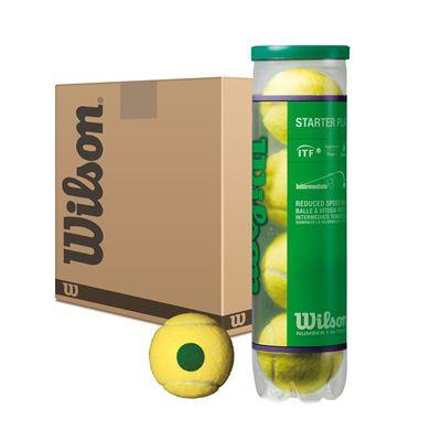 Wilson Starter Play Green Tennis Balls - 5 Doz
