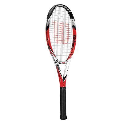 Wilson Steam 105 Tennis Racket Side