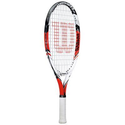 Wilson Steam 21 Junior Tennis Racket 2014 - Side