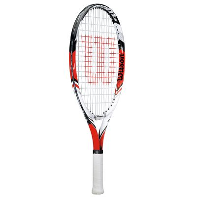 Wilson Steam 25 Junior Tennis Racket 2014 - Side