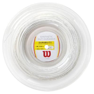 Wilson Synthetic Gut Duramax 16 Tennis String - 200m Reel