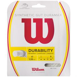 Wilson Synthetic Gut Duramax 17 Tennis String Set