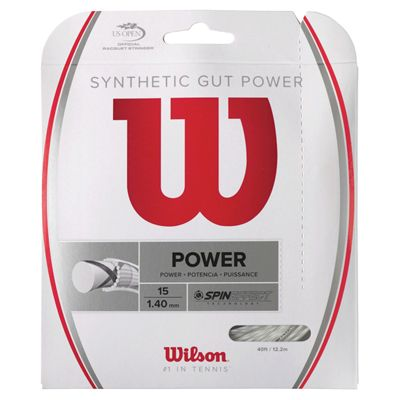 Wilson Synthetic Gut Power 15 Tennis String Set