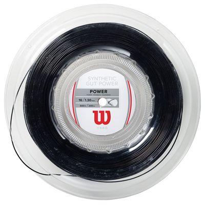 Wilson Synthetic Gut Power 16 Tennis String - 200m Reel