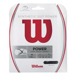 Wilson Synthetic Gut Power 16 Tennis String Set