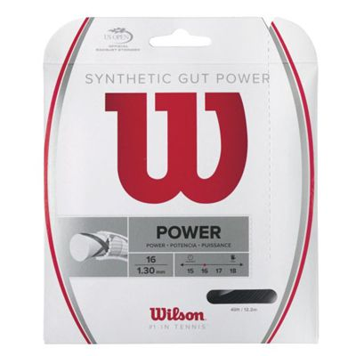 Wilson Synthetic Gut Power 16 Tennis String Set Main Image