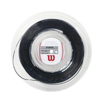 Wilson Synthetic Gut Power 17 Tennis String - 200m Reel