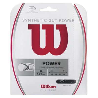 Wilson Synthetic Gut Power 17 Tennis String Set Main Image