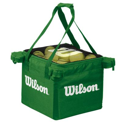 Wilson Teaching Tennis Cart Ball Bag - Lime