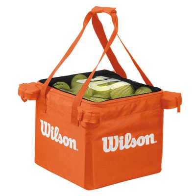 Wilson Teaching Tennis Cart Ball Bag - Orange