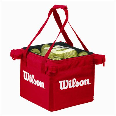 Wilson Teaching Tennis Cart Ball Bag - Red