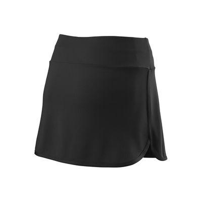 Wilson Team 12.5 inch Ladies Skirt SS18 - Bkack - Back